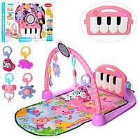 Развивающий коврик для младенца KK2622 с пианино, музыка (рег. громкости), свет, 940*500 мм, фото 1