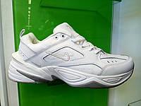 Мужские кроссовки в стиле найк белые кроссовки M2K Tekno white