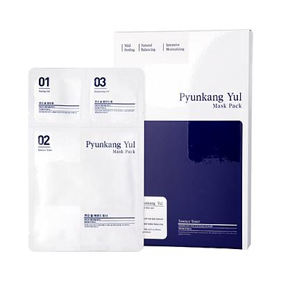 Маска тканевая 3-х ступенчатая система по уходу за чувствительной кожей Pyunkang Yul 3 Step Mask Pack