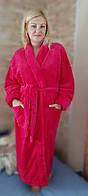 Халат махровый женский длинный 50-58, доставка по Украине