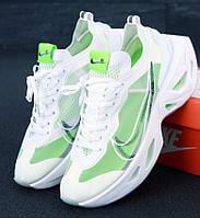 Женские кроссовки Nike Zoom X Vista Grind белые с салатовым 36-45рр. Живое фото (Топ реплика ААА+)