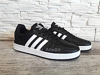 Мужские кроссовки в стиле Adidas Originals (черные),  42, 43, 45