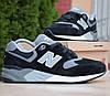 Мужские кроссовки New Balance 999 черные с серым 41-46рр. Живое фото. Реплика
