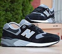 Мужские кроссовки New Balance 999 черные с серым 41-46рр. Живое фото. Реплика, фото 1
