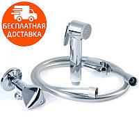 Гигиенический душ с вентилем Grohe Tempesta 27514001 хром
