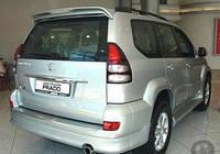 Спойлер на заднюю дверь Toyota Prado 120+стоп
