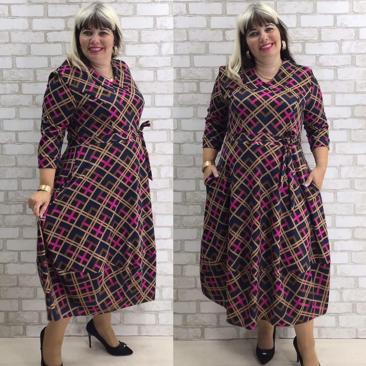 Платье женское 691чп батал