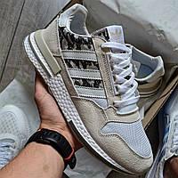 "Мужские кроссовки Adidas ZX 500 RM ""White Camo"" черные 41-44р (Реплика ААА+)"