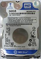 Жесткий диск HDD 240GB 5400rpm  8MB SATA III 2.5 Slim WD Blue WD2500LPVX WXB1E74N02ZV, фото 1