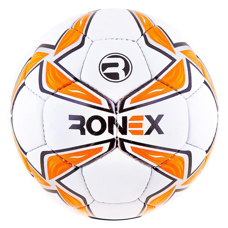 Мяч футбольный Grippy Ronex-MLT, оранжевый, №5.