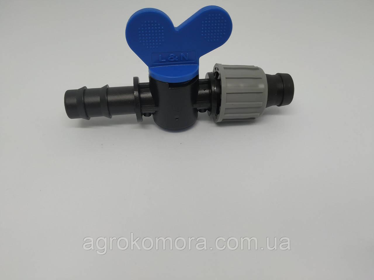 Мінікран для з`єднання трубка стрічка 16 мм, - Україна