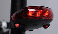 Фонарь велосипедный KK-9301 светящаяся дорожка подсветка дороги, фото 1