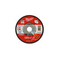 Диск отрезной по металлу Milwaukee PRO+ 125x1x22.2 мм (4932451487)