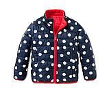 Двухсторонняя стеганая куртка пропитка ecorepel® от тсм Tchibo (чибо), Германия, размер 164-170, фото 3