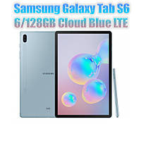 Планшет Samsung Galaxy Tab S6 10.5 LTE 6/128GB Cloud Blue (SM-T865NZBAXEO )
