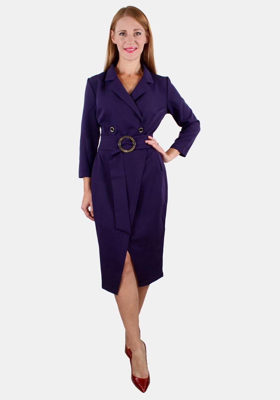 Платье-пиджак с запахом полоска 44-50 р ( разные цвета )