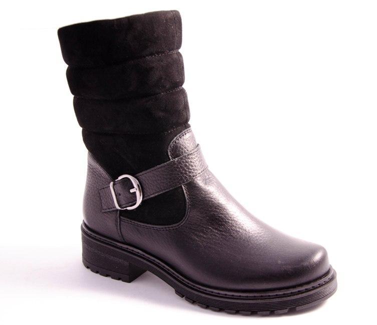 Ботинки женские черные Romani 2481315/2 р.36-41