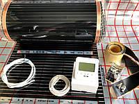 """14 м2.Инфракрасный теплый пол """"RexVa"""" (Корея), комплект с программируемым  терморегулятором SET-08"""