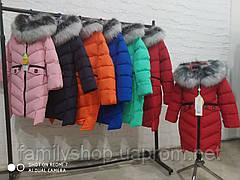 Детское зимнее пальто  на девочку Афина  нью вери (Nui Very), фото 3