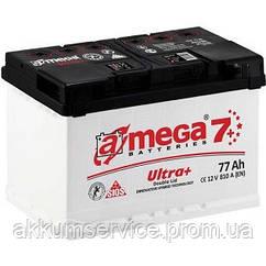 Аккумулятор автомобильный A-Mega Ultra+ (М7+) 77AH L+ 810A