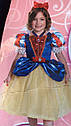 Костюм  Белоснежки с пышной юбкой в блестках Disney Princess Girls Snow White (Размер 4-7 лет) (США), фото 4