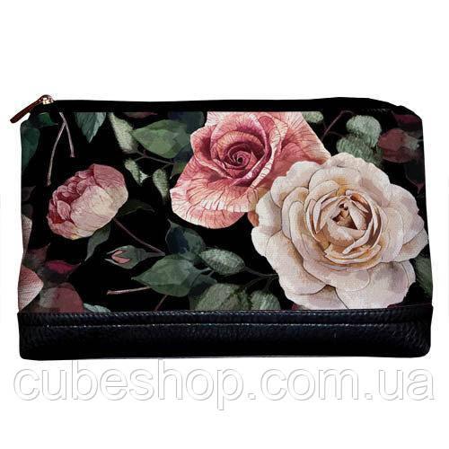Косметичка дорожная женская «Lovely» Розы