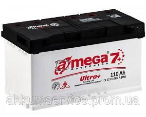 Аккумулятор автомобильный A-Mega Ultra+ (М7+) 110AH L+ 1000A
