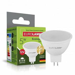 EUROLAMP LED Лампа ЕКО серія  MR16 5W GU5.3 4000K 12V (50), фото 2