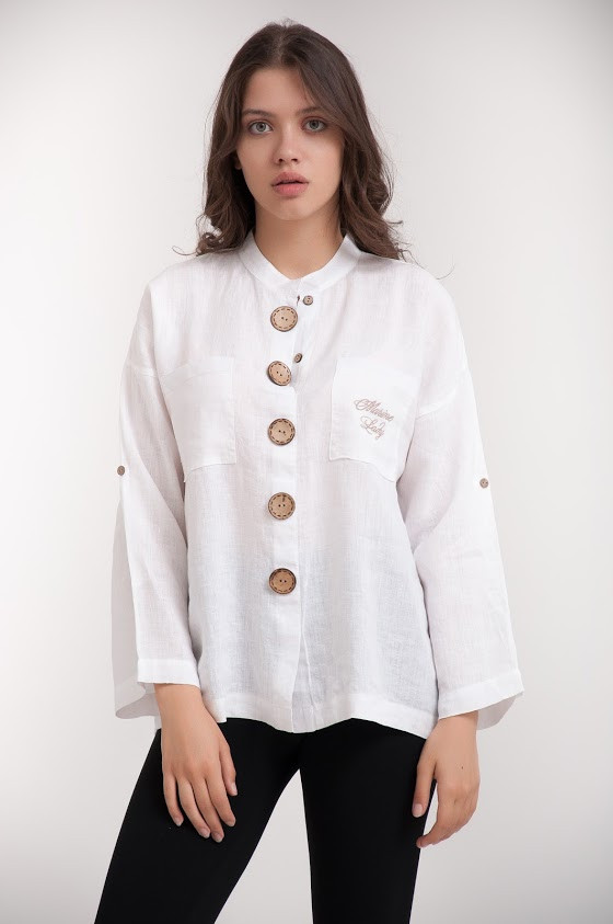 Рубашка женская KIFA БЖ-018/44 белая