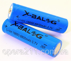 Аккумулятор X-BAIL BLUE (Li-ion 18650 3.7V 8800mAh)