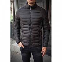 Куртка QQN DDS-17 стеганная черный осень О