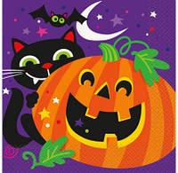 Серветки Happy Halloween 16шт/уп 46492