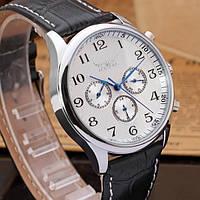 Мужские механические часы с автоподзаводом Jaragar Elite White