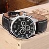Мужские механические часы с автоподзаводом Jaragar Elite Black - Фото