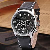 Мужские механические часы с автоподзаводом Jaragar Elite Black
