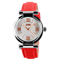 Женские часы Skmei Elegant Red 9075R