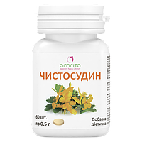Чистосудин, 60 табл. Амрита. Антибактериальное и противогрибковое средство.
