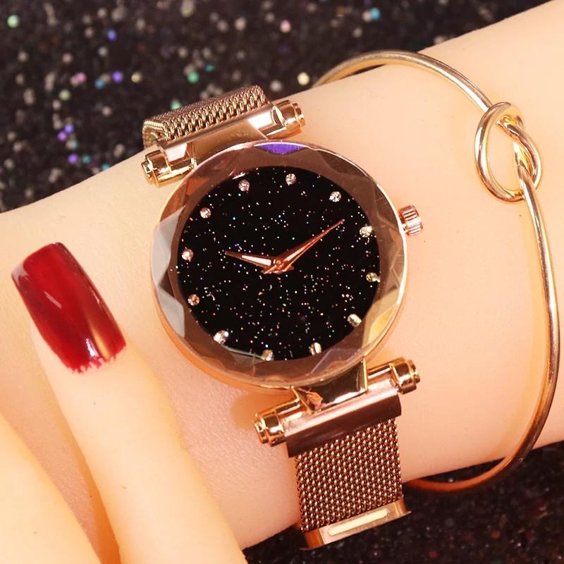 Женские наручные часы, магнитный ремешок