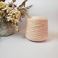 Итальянская пряжа CLIPPER Rigo (меринос 100%, 350м/100 гр,розовая пудра)