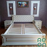 """Кровать двуспальная """"Прайм"""" 160*200 мягкое изголовья, фото 1"""