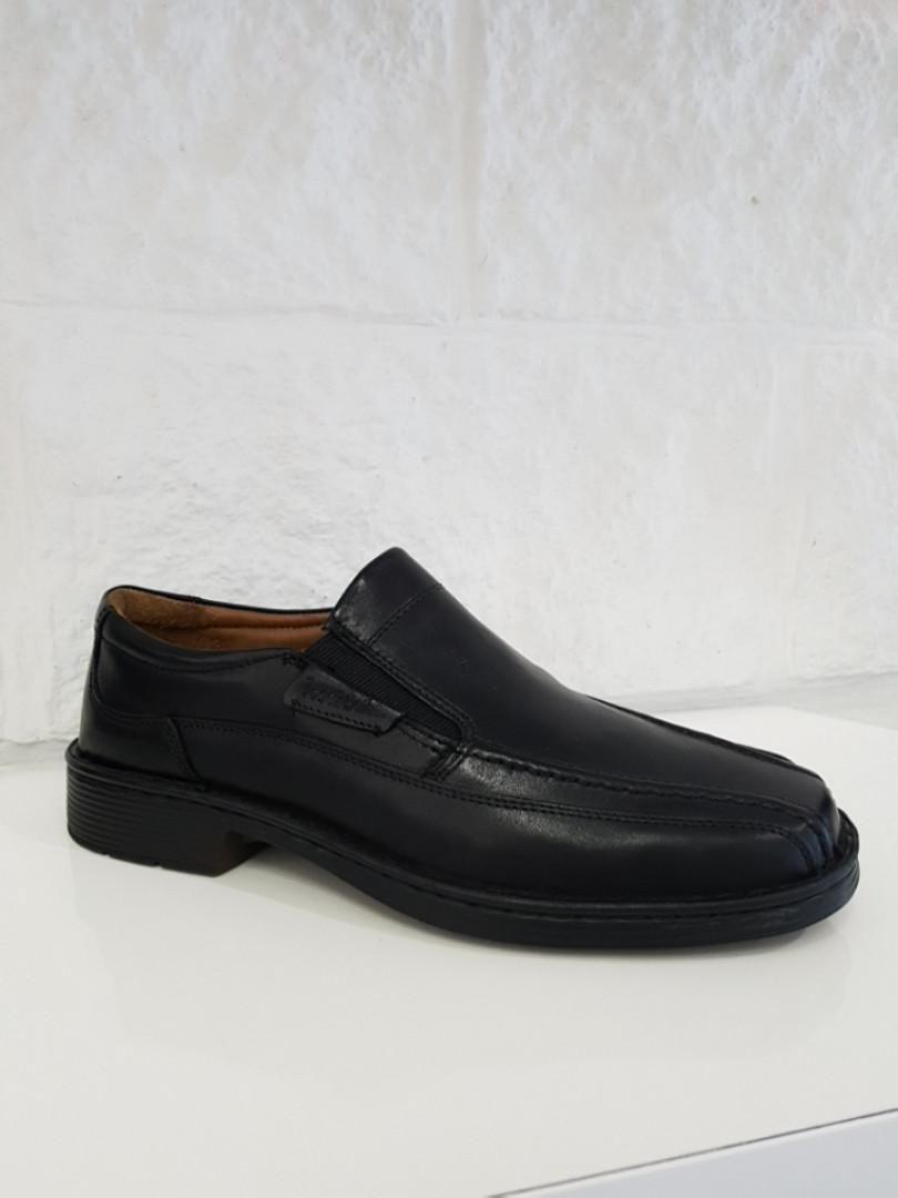 Туфлі чоловічі Josef Seibel Bradford 07 (великих розмірів)чорні, шкіра