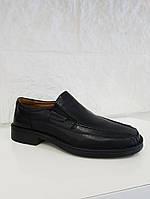 Туфлі чоловічі Josef Seibel Bradford 07 (великих розмірів)чорні, шкіра, фото 1