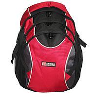 Рюкзак ортопедический для ноутбука на 3-и отделения красный Enrico Benetti(Голландия) 45282.017