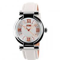 Женские часы Skmei Elegant White 9075