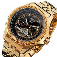 Мужские механические часы Jaragar Exclusive с автоподзаводом (хронограф, тахиметр)