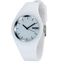 Женские спортивные часы Skmei Rubber White II 9068C