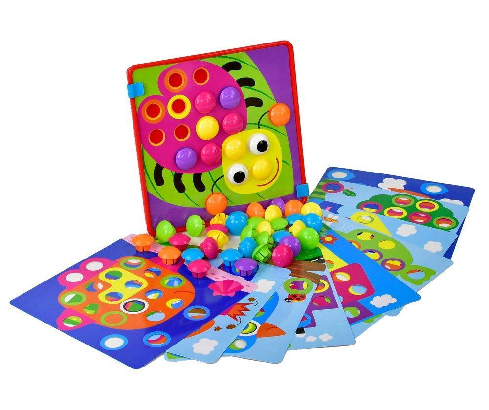 """Мозаїка для найменших """"Кольорова фантазія"""" (коробка) YG787-8, игра Цветная фантазия"""