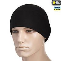 M-Tac шапка Watch Cap Elite флис (260г/м2) Black