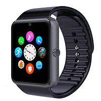 Смарт часы мужские UWatch Smart GT08 Black, фото 1