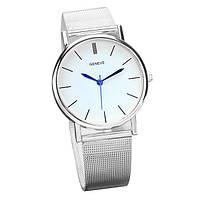Женские классические часы Geneva Steel Silver